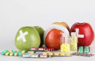 Еда и таблетки