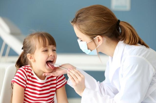 Антибиотики для детей при ангине