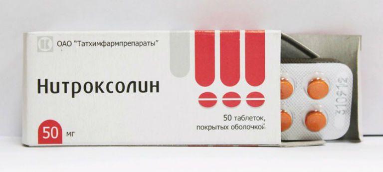 нитроксолин инструкция по применению при цистите