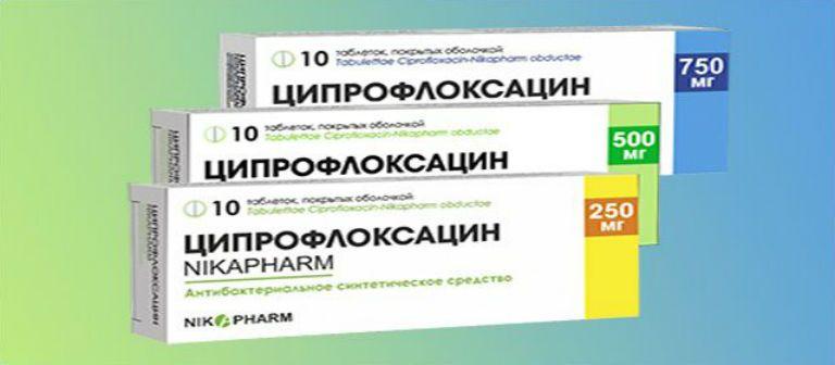 ципрофлоксацин при цистите у женщин