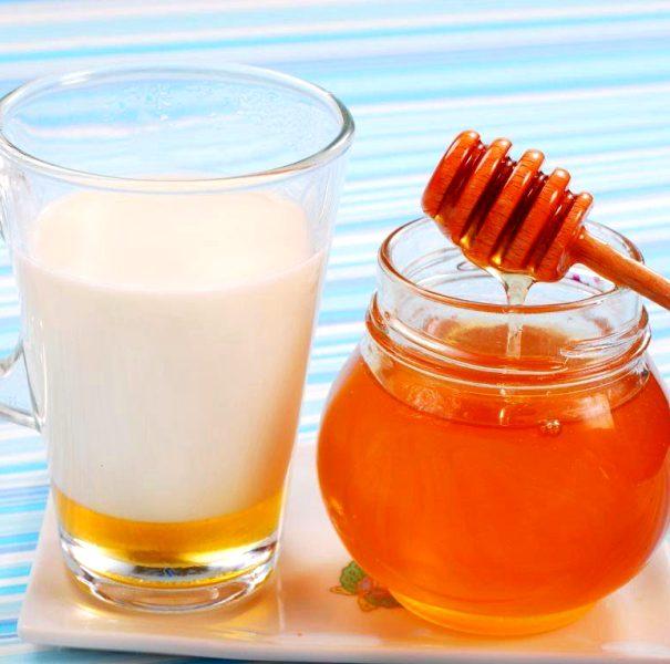 Мед и молоко для мамы