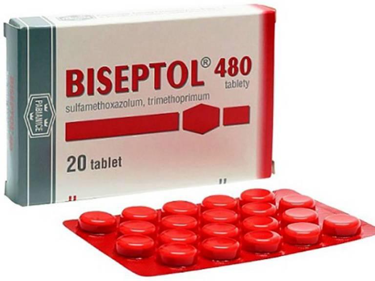 бисептол при цистите у женщин способ применения
