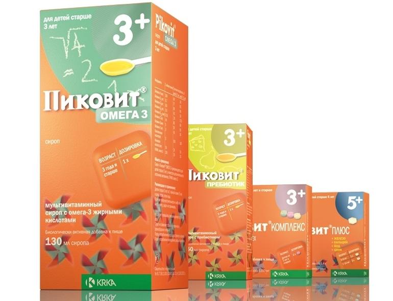 Витамины Пиковит для детей