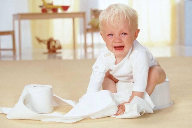 Что делать если у ребенка жидкий стул?
