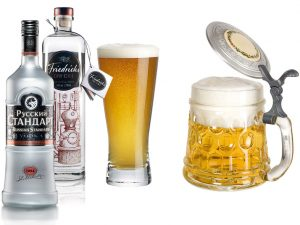 водка или пиво