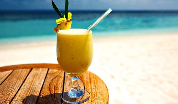 Рецепт низкокалорийного бананового коктейля
