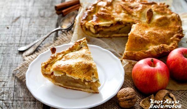 Диетический яблочный пирог: рецепт приготовления