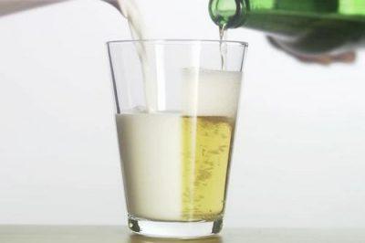 пиво с молоком