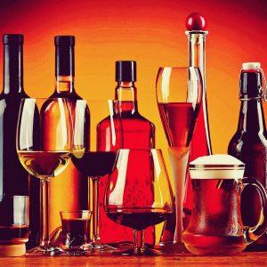 пиво вино коньяк