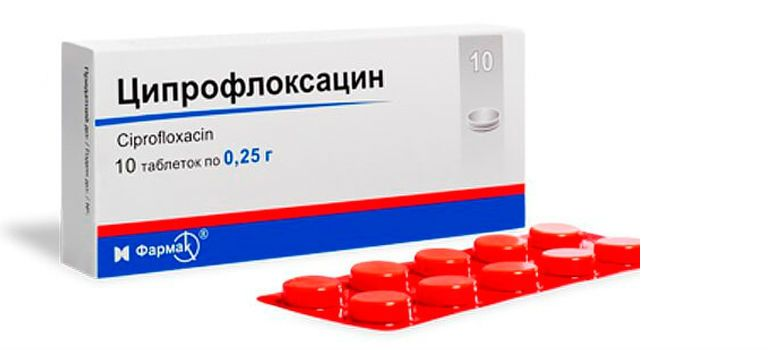 ципрофлоксацин при цистите как принимать