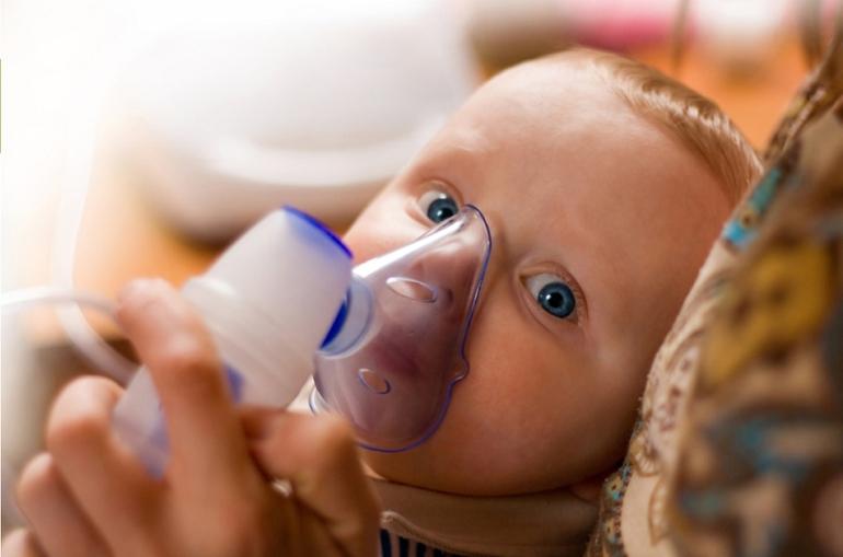 Ингалятор (небулайзер) для детей от кашля и насморка