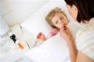 Ребёнок контактировал с больным корью. Алгоритм предупреждения заболевания
