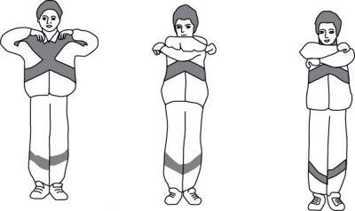 Дыхательное упражнение «обними плечи»