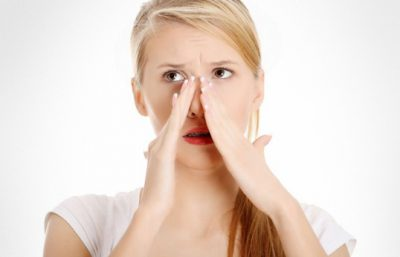 Боль в носу