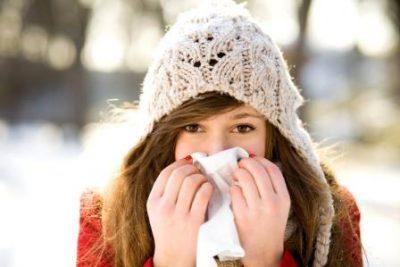 Насморк зимой