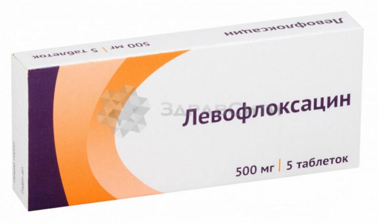 лечение цистита левофлоксацином