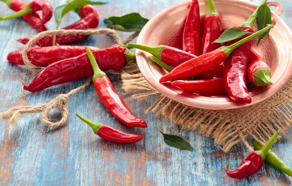 Красный чилийский перец