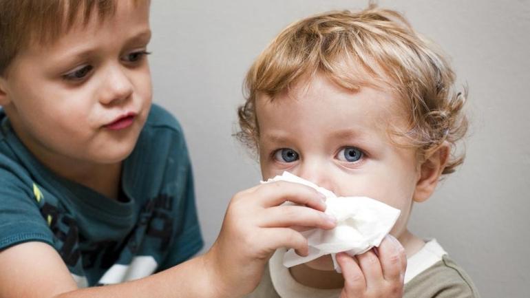 Лечение заложенности носа у ребенка
