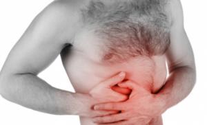 Сильные боли в области брюшной полости