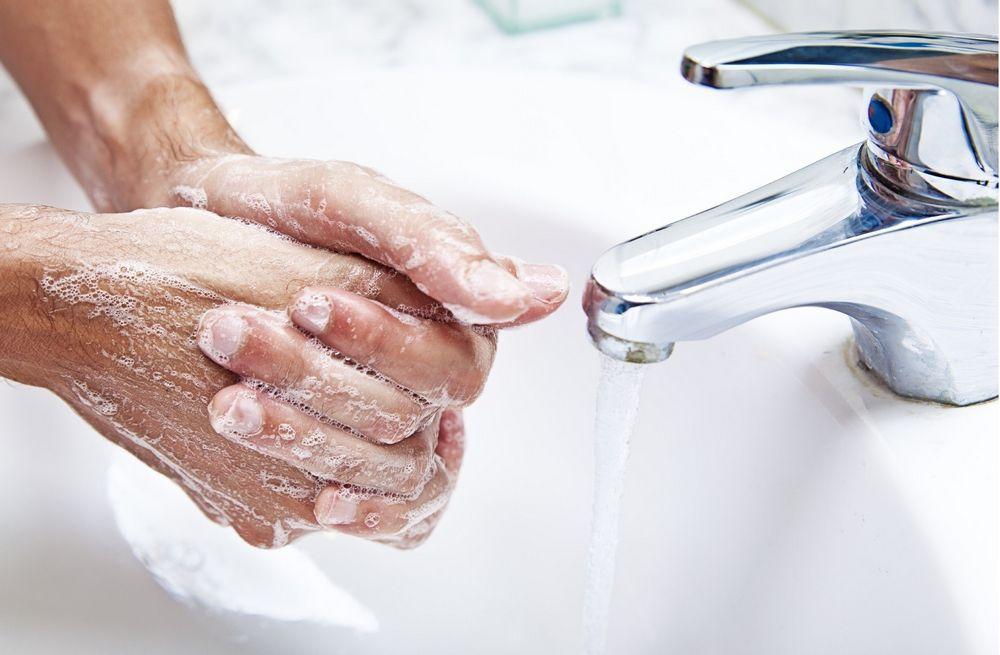 Тщательное мытье рук