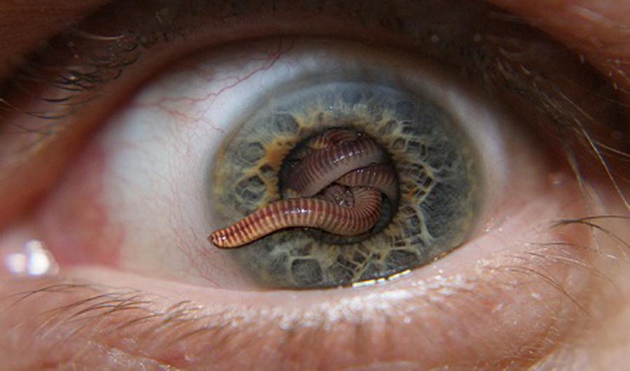 Заражение глаз