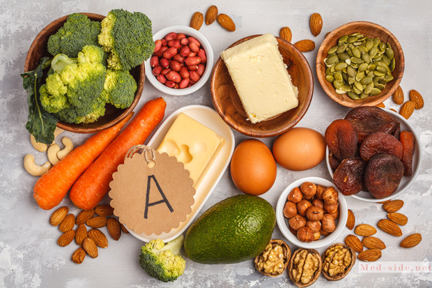 Витамин А находится в каждой нашей клетке. Симптомы гиповитаминоза и продукты которые его устраняют