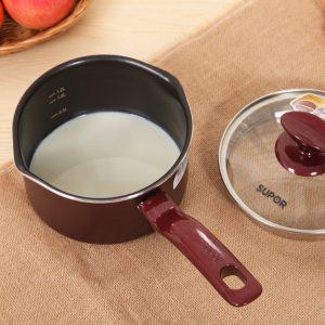 нагретое молоко