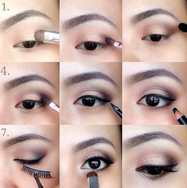 как сделать нюдовый макияж