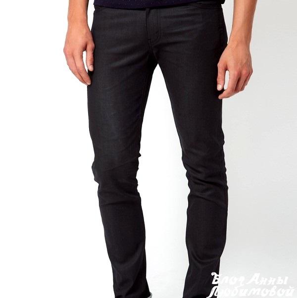 Фото черных джинсов мужских