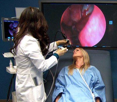 Эндоскопическое удаление полипов в носу