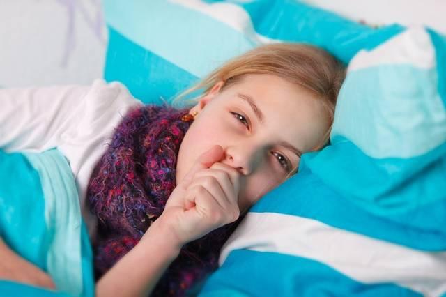 Кашель у ребенка во время сна, как помочь?