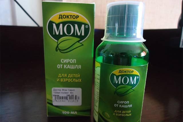 Доктор Мом сироп от кашля для детей