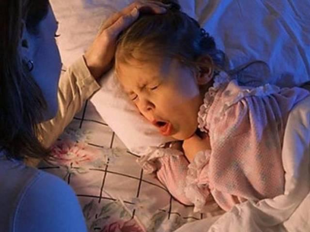 Ребенок сильно кашляет по ночам без температуры