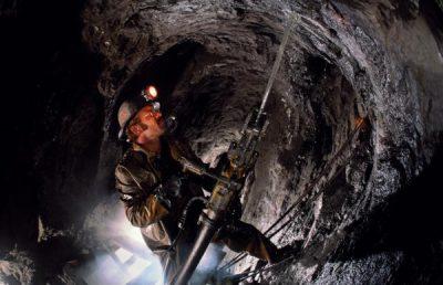 Работа на шахте