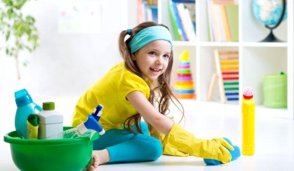 Домашнее задание: как научить ребенка помогать по дому