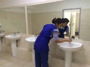 Дезинфекция туалета