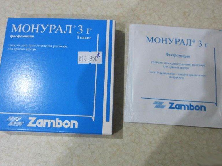 Лекарство от цистита пакетик