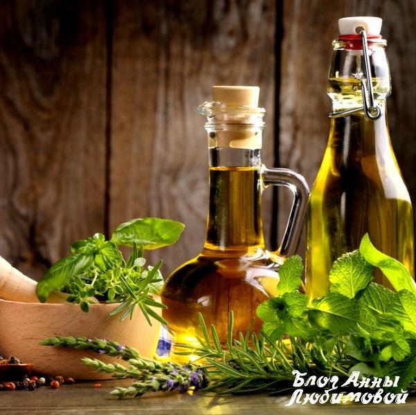Эфирные масла в бутылках