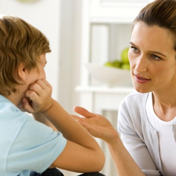 Разговор сына с матерью