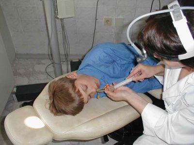 Лечение носа ребенку