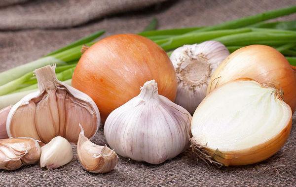 Клизма из чеснока и луковицы