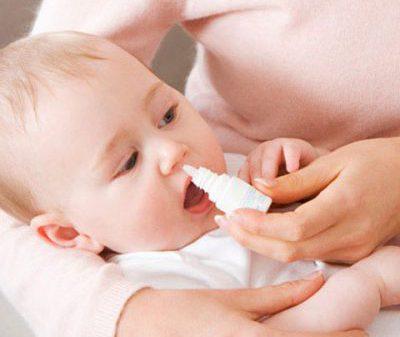 Сосудосуживающие капли в нос для грудничков