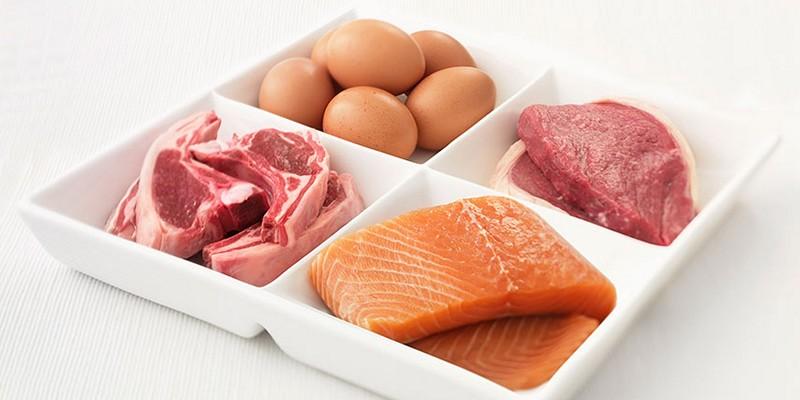 Нежирное мясо и рыба